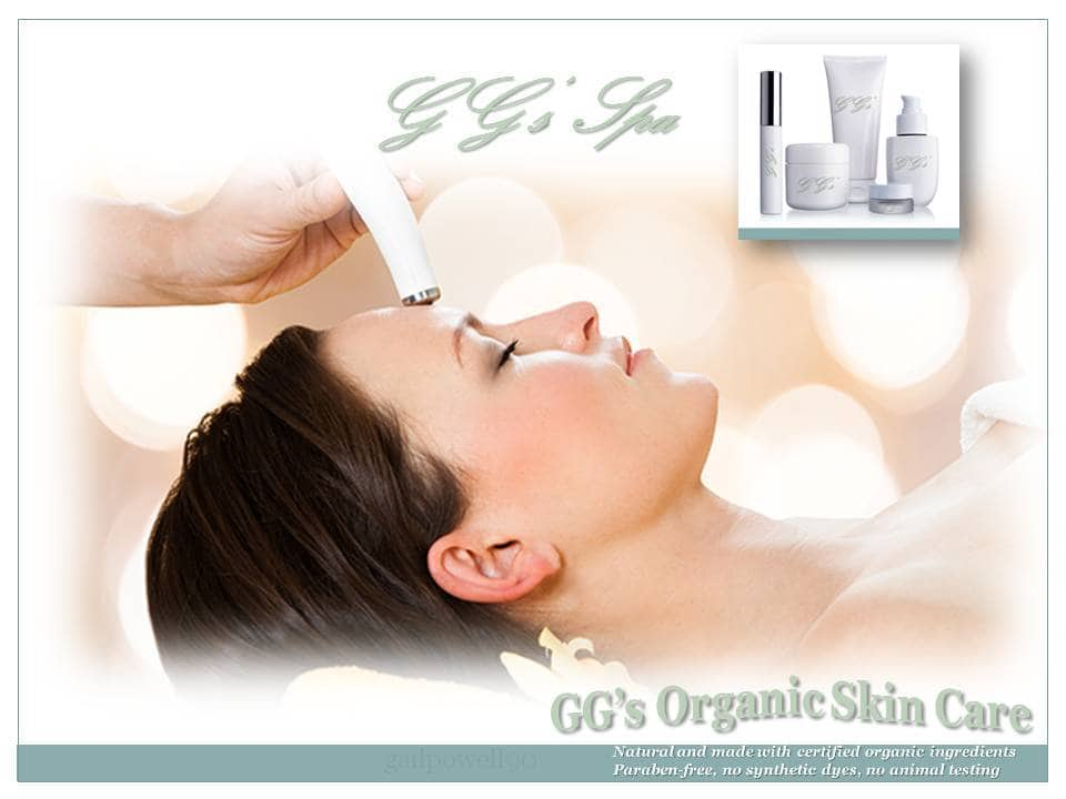 Gg s organic skin care products ggs spa pensacola florida for 369 salon pensacola